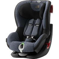Автокресло BRITAX-ROMER KING II LS BLACK SERIES Blue Marble 1 (9-18кг)