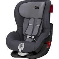 Автокресло BRITAX-ROMER KING II BLACK SERIES Storm Grey 1 (9-18кг)