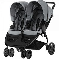 Коляска Britax™ B-AGILE DOUBLE Steel Grey [2000025702]