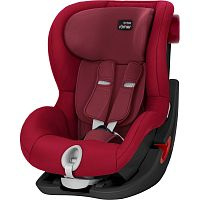 Автокресло BRITAX-ROMER KING II BLACK SERIES Flame Red 1 (9-18кг)