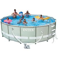 Каркасный бассейн (549х122 см) Intex 28252 Metal Frame Pool