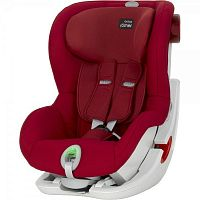 Автокресло BRITAX-ROMER KING II ATS Flame Red 1 (9-18кг)