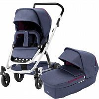 Коляска и люлька Britax™ GO NEXT2 Oxford Navy/White [2000027972]