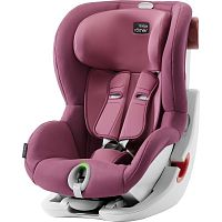 Автокресло BRITAX-ROMER KING II LS Wine Rose 1 (9-18кг)
