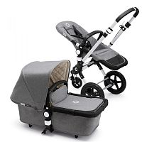 Bugaboo коляска Cameleon 3 Classic+ Collection Grey Melange