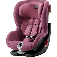 Автокресло BRITAX-ROMER KING II BLACK SERIES Wine Rose 1 (9-18кг)